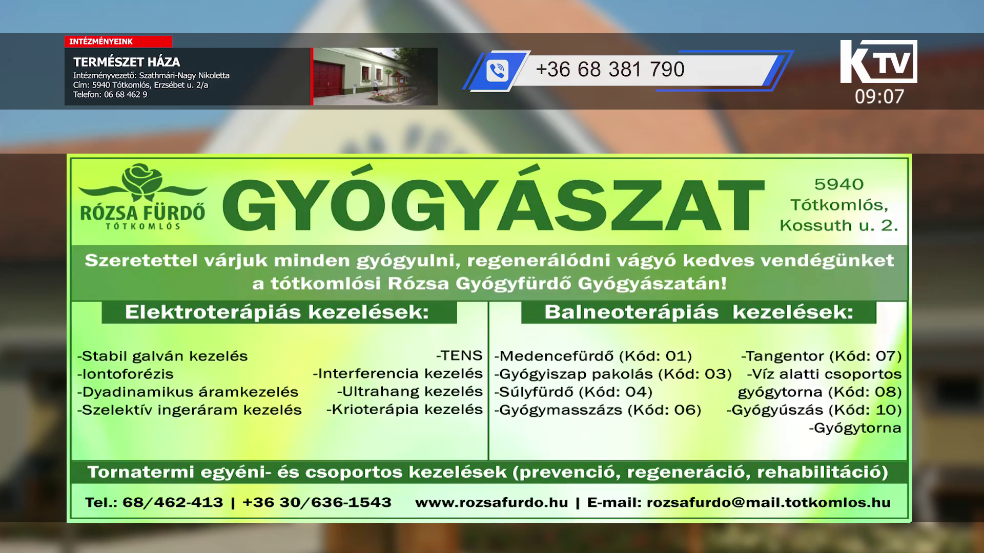 Watch Komlós TV